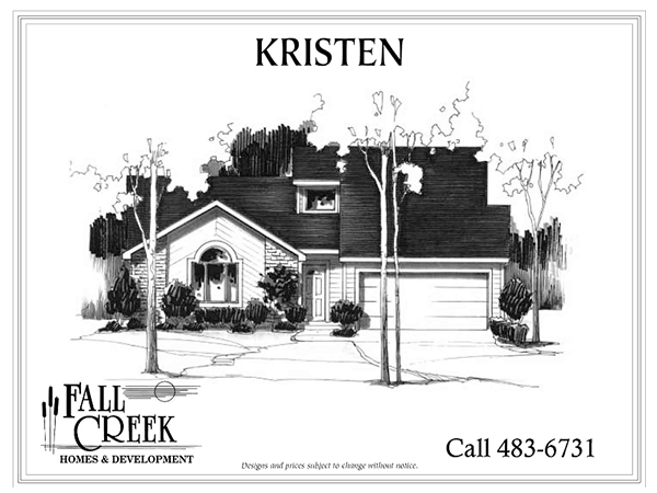 Kristen - 1,538 sq. ft. | 3 bed | 2 bath