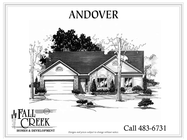 Andover - 2,322 sq. ft. | 3 bed | 2.5 bath