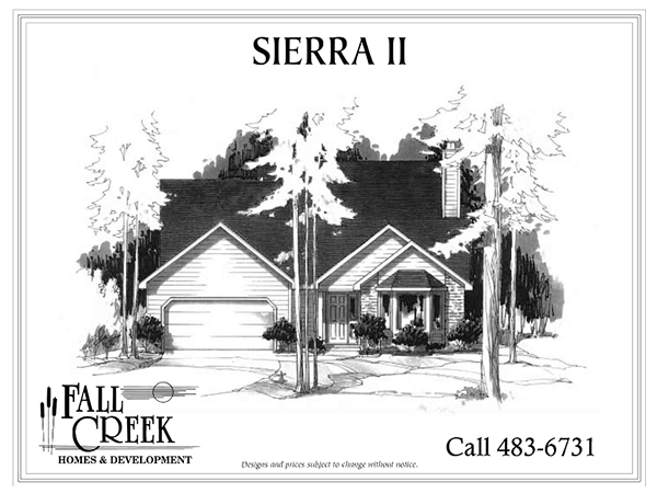 Sierra II - 1,677 sq. ft. | 3 bed | 2.5 bath