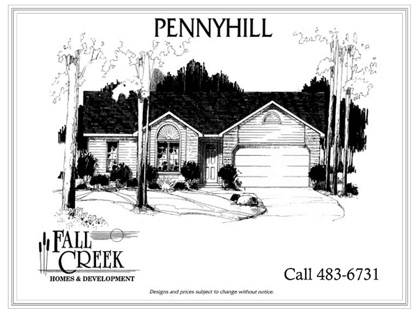 Pennyhill I - 1,213 sq. ft. | 3 bed | 2 bath