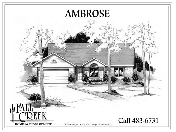 Ambrose I - 1,358 sq. ft. | 3 bed | 2 bath