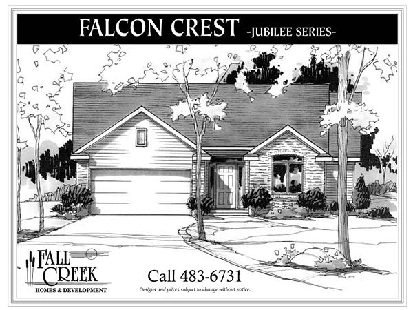 Falcon Crest I - 1,393 sq. ft.   3 bed   2 bath