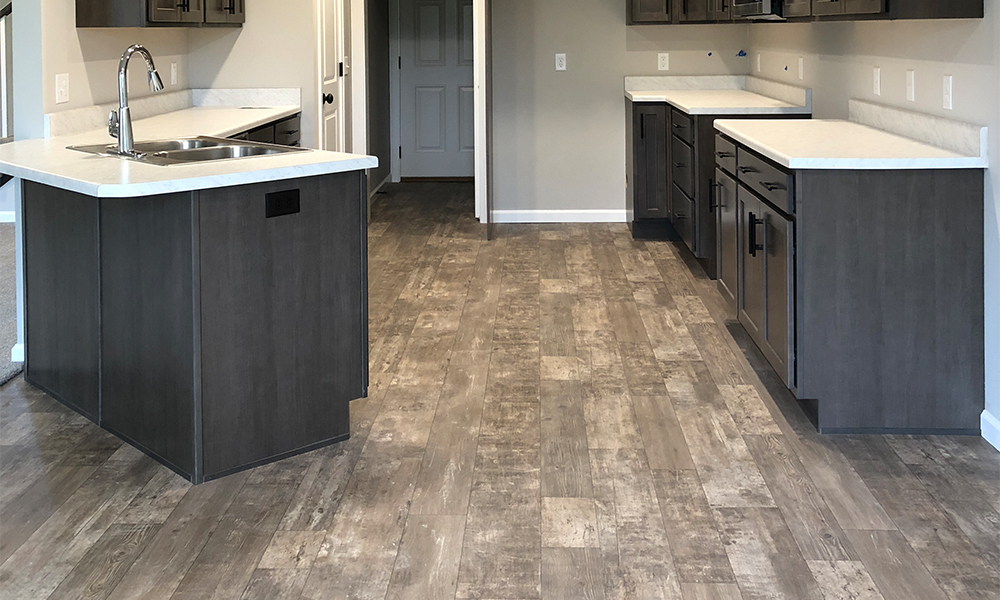 Vinyl Flooring - Vinyl flooring from Mannington contributes to green-building systems like LEED and uses low-VOC water-based ink. Our vinyl is FloorScore certified and won't trap dust or allergens.