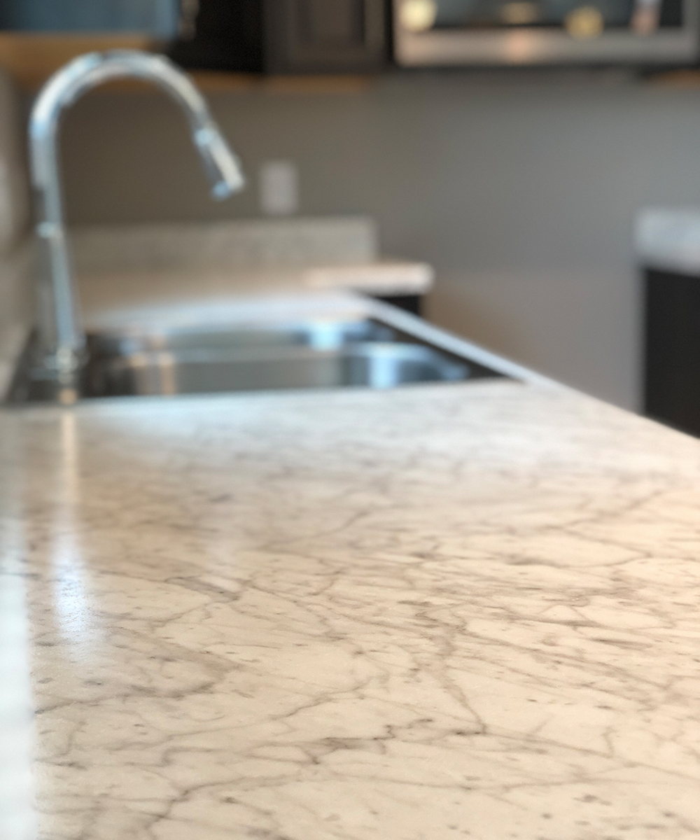 Countertops - We offer sustainable laminate countertop options - LEED, FSC, Greenguard, and Recycled Content certified - from Formica, Wilsonart, and Panolam.
