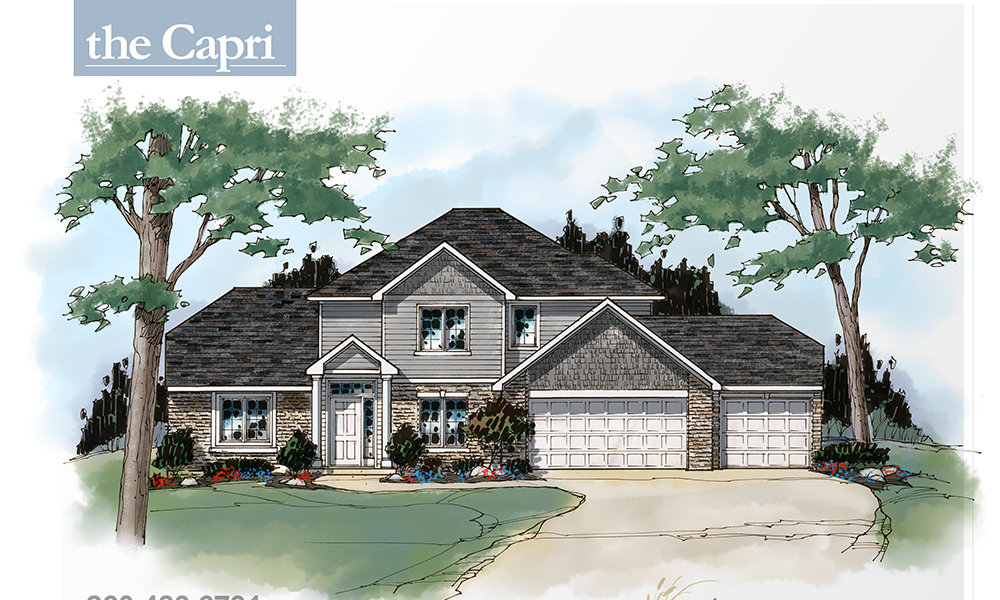 Capri - 2,217 sq. ft. | 4 bed | 2.5 bath