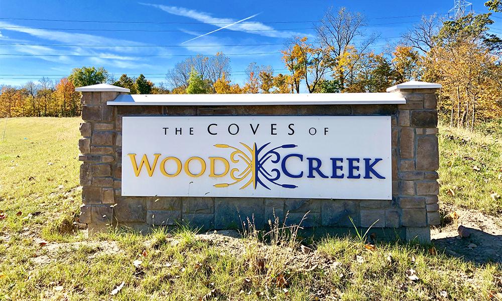 Wood Creek Sign