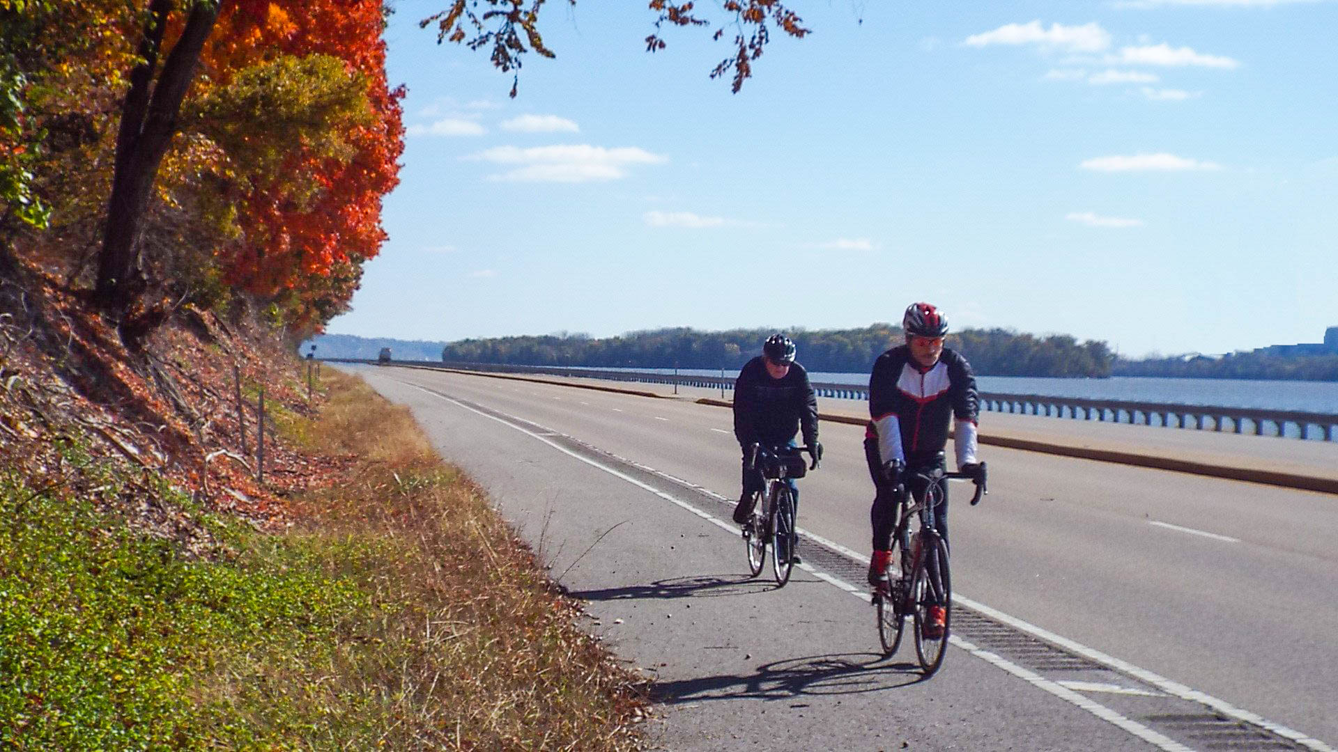 The Sam Vadalabene Trail, Madison and Jersey Counties, Illinois