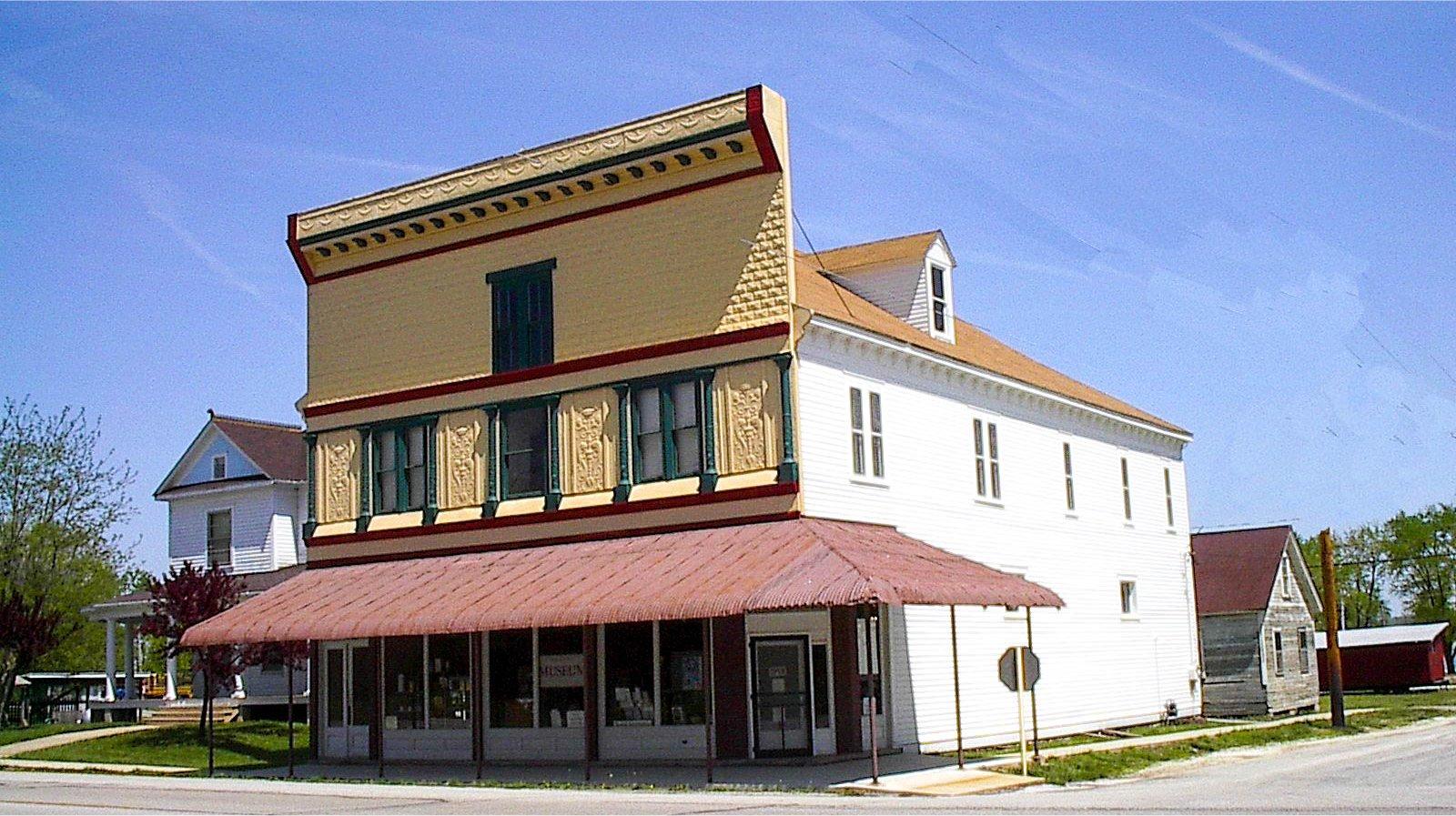 The historic Kamp Store