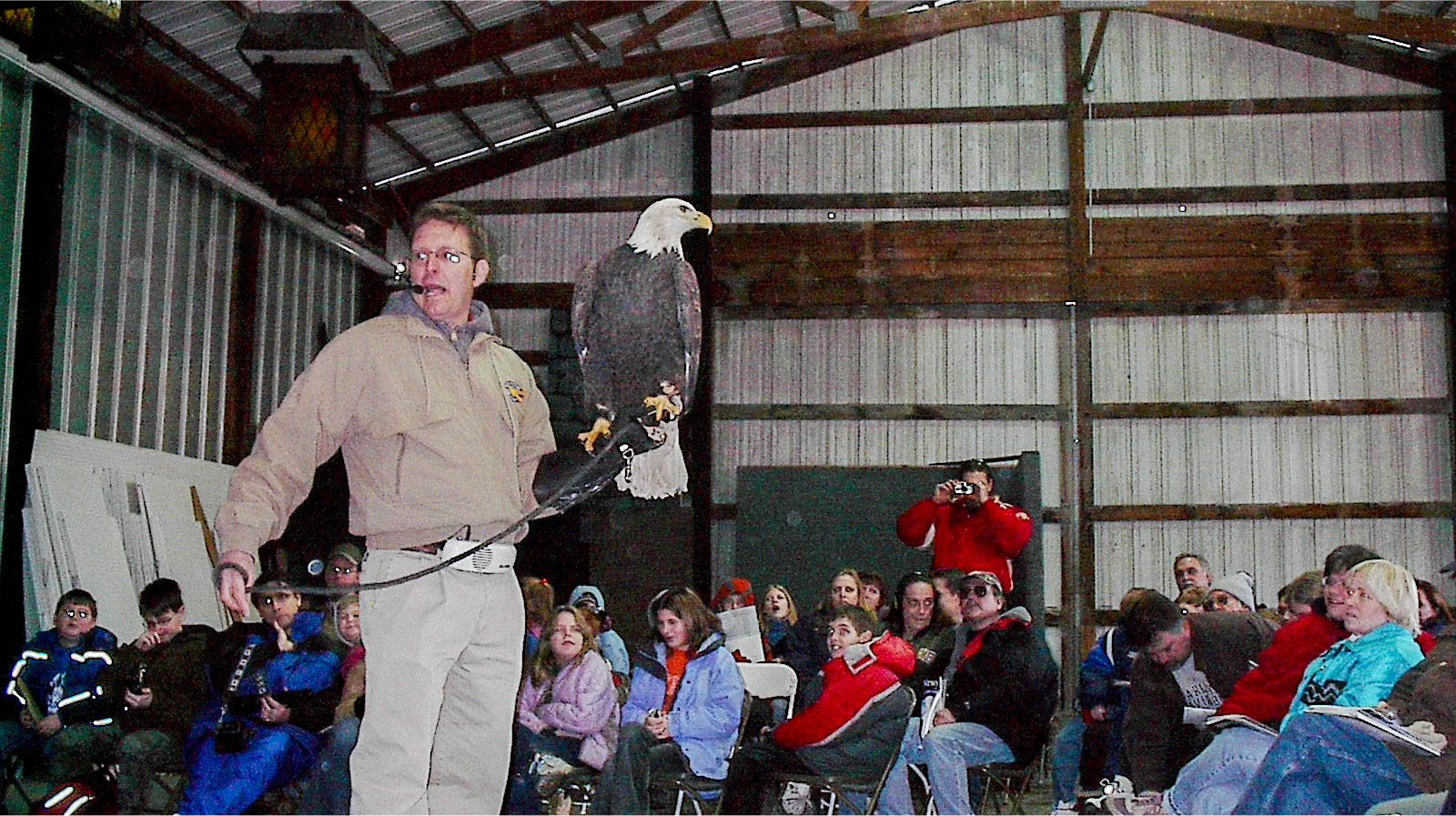 Eagle Days in Clarksville in January