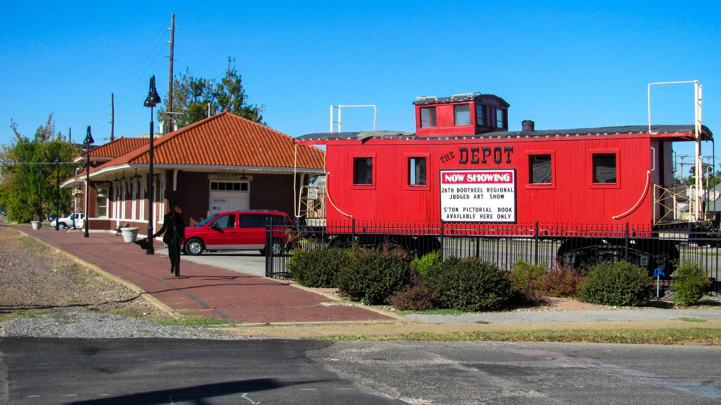 The Sikeston Depot Museum in Sikeston, Missouri