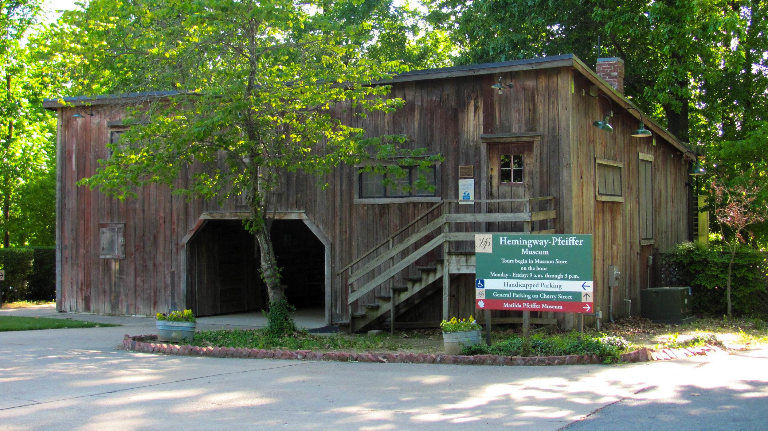 Hemingway-Pfeiffer Museum Piggott, Arkansas