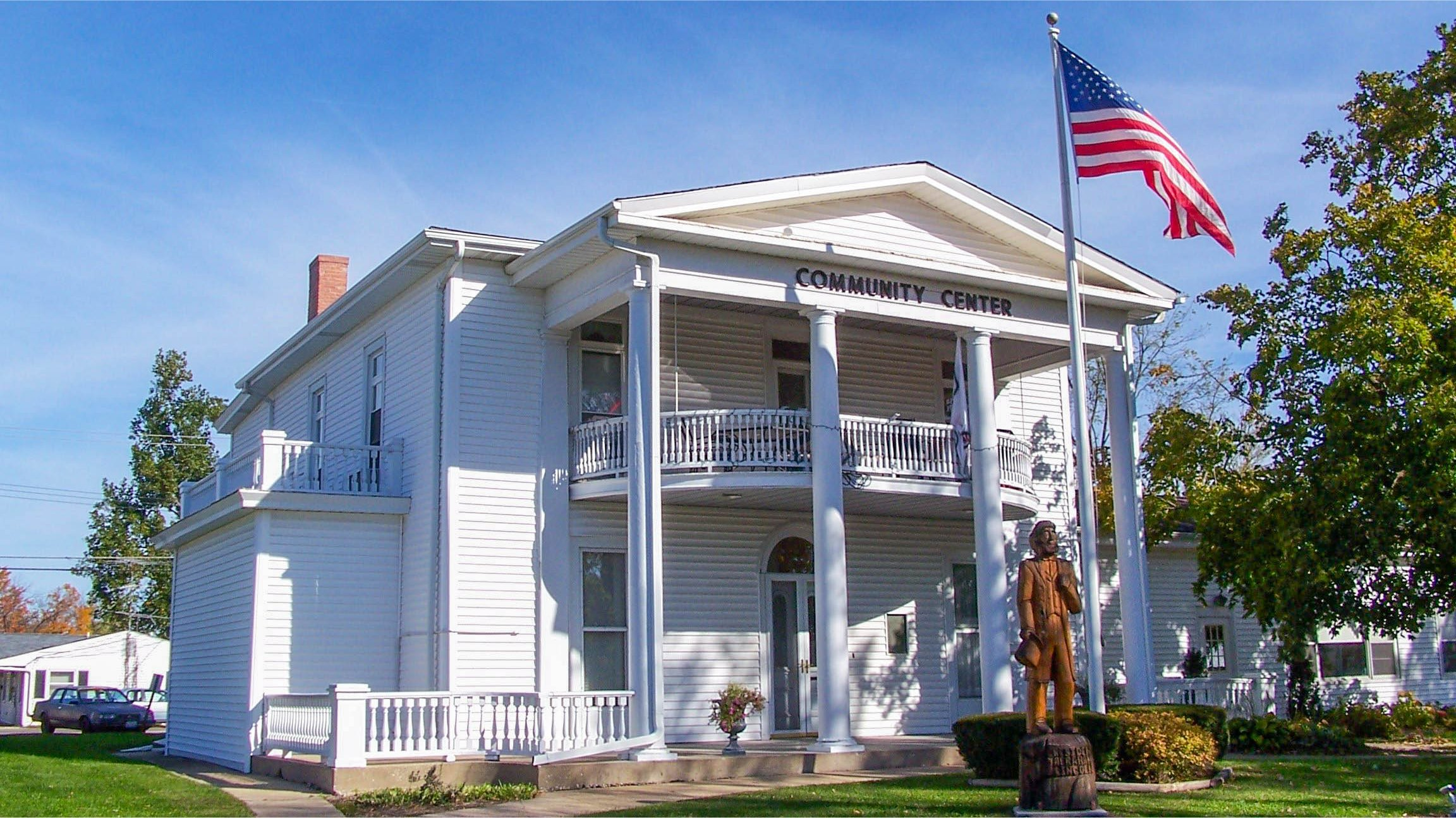 The Pike County Visitors Center in Pittsfield