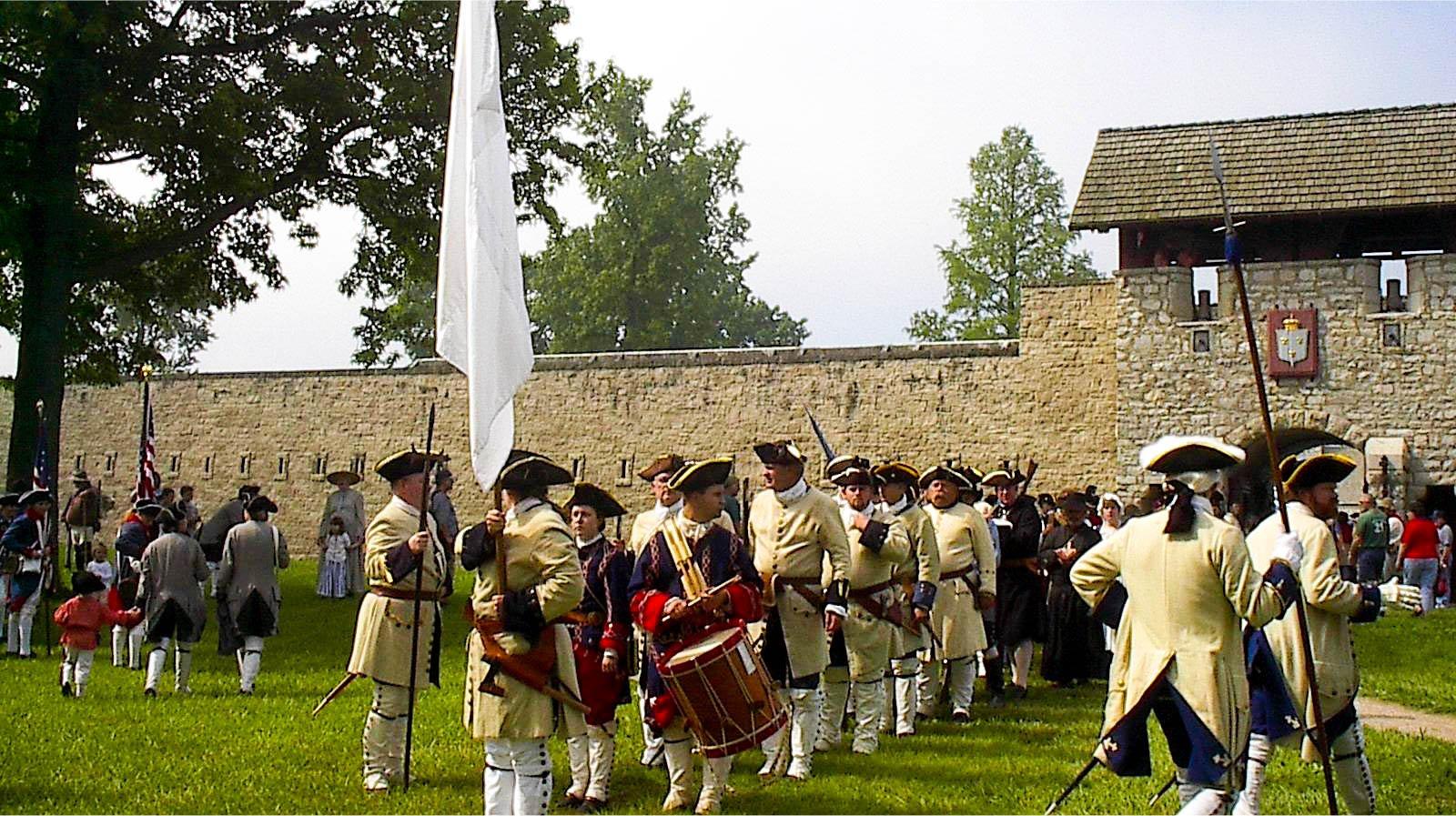 Fort De Chartres State Historic Site Prairie du Rocher, Illinois