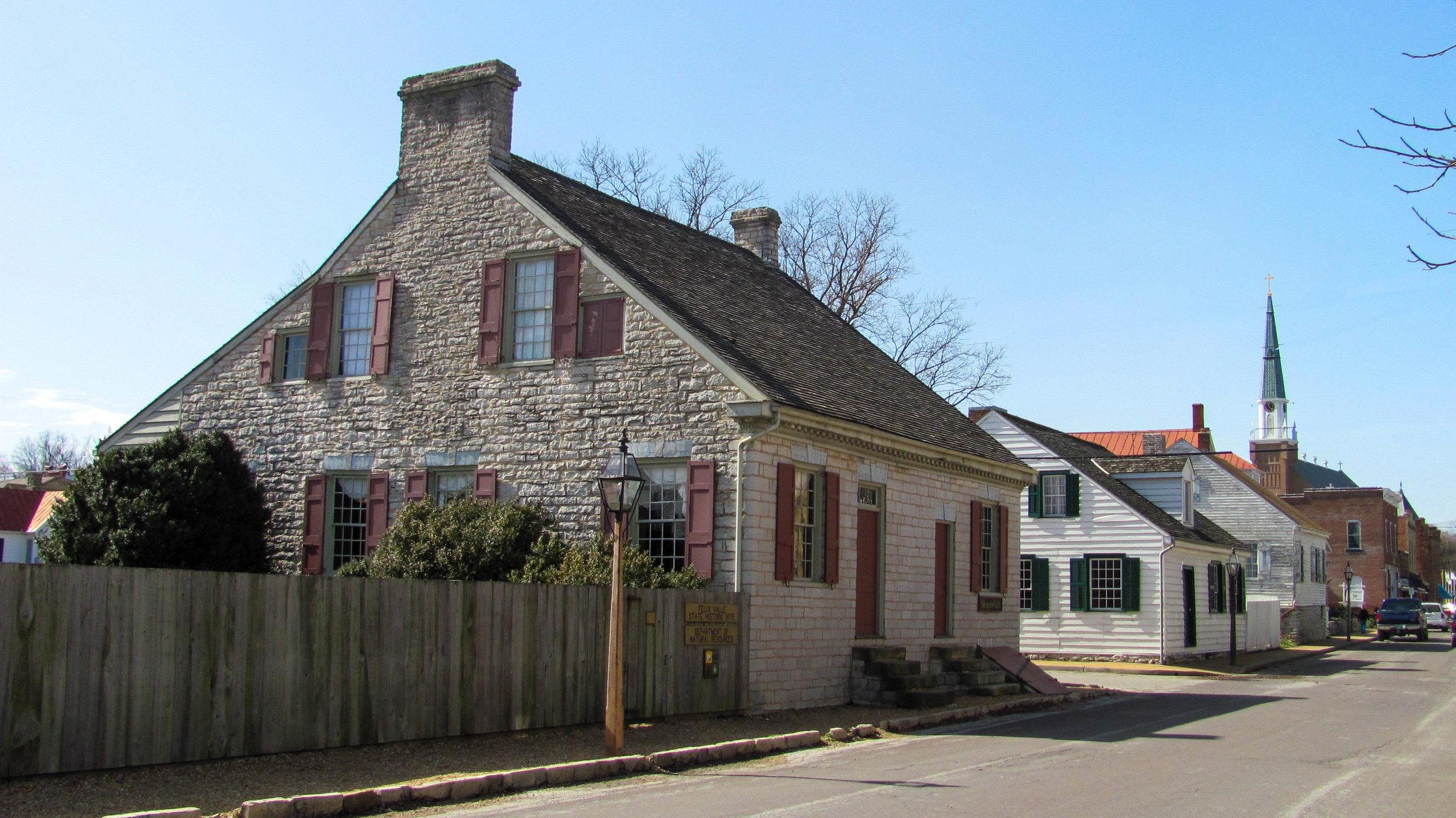 Felix Vallé State Historic Site Ste. Genevieve, Missouri