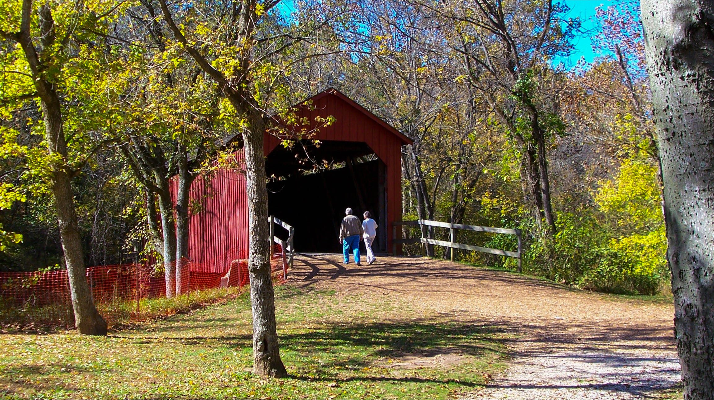 Sandy Creek Covered Bridge State Historic Site Goldman, Missouri
