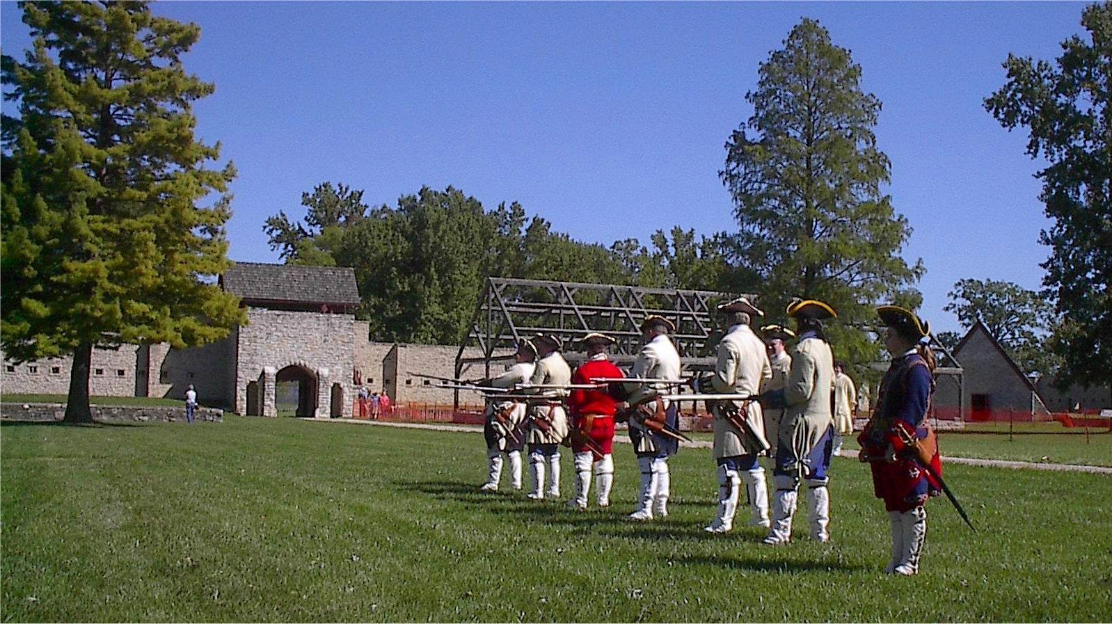 Fort de Chartres Prairie du Rocher, Illinois