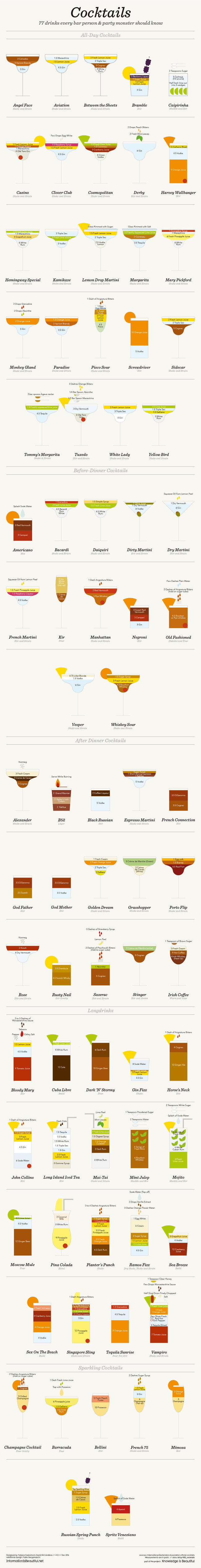 Interactive Cocktail Shaker infographic