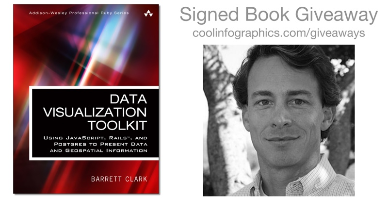 The Data Visualization Toolkit signed book giveaway