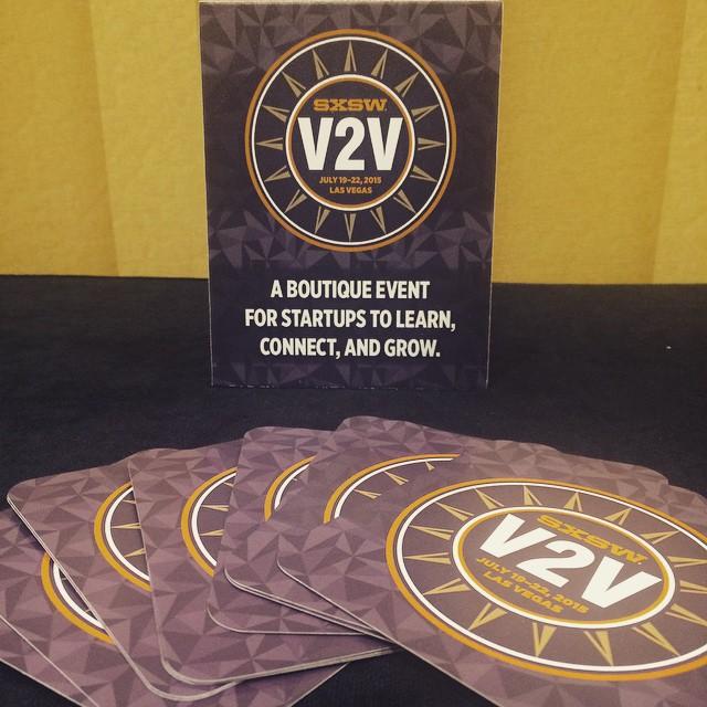 Infographics at SxSW V2V in Las Vegas