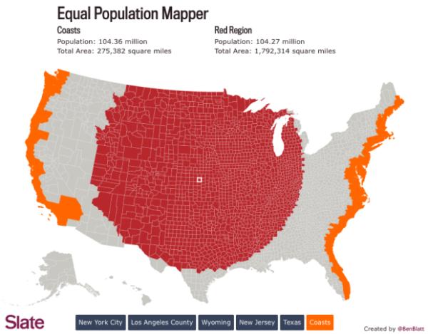 Equal Population Mapper  infographic