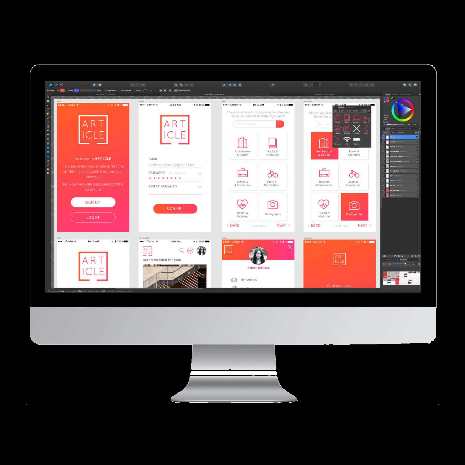 Vector Graphics Apps -
