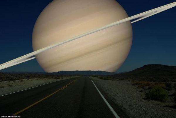 Planets in Orbit Around Earth: Saturn