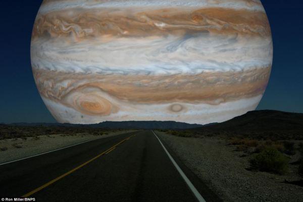 Planets in Orbit Around Earth: Jupiter