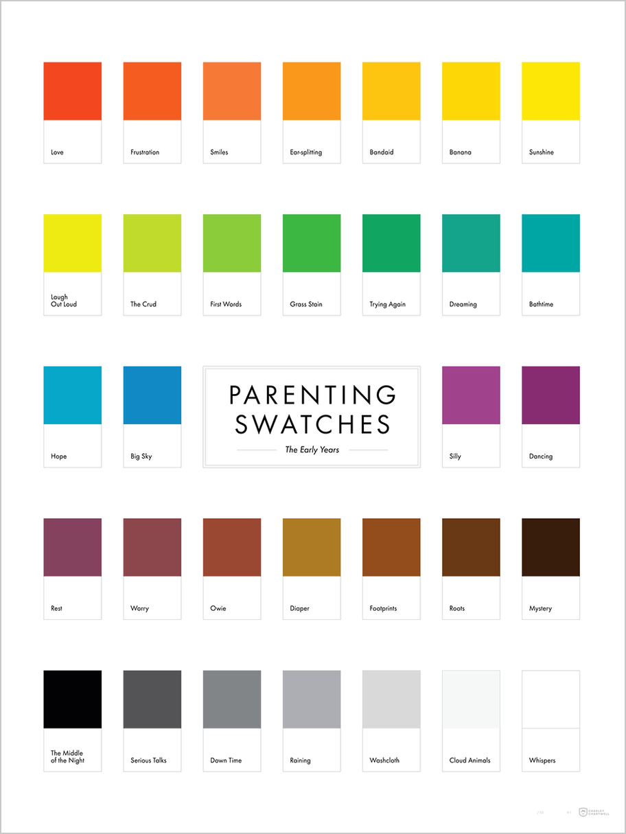 The Colors of Parenting: Years 1-5