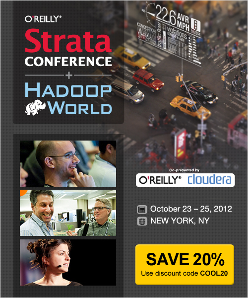 Strata Conference NY Oct 23-25 - 20% Discount Code
