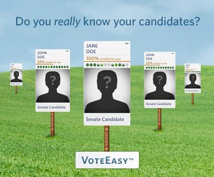 Visual Election Candidate Comparison