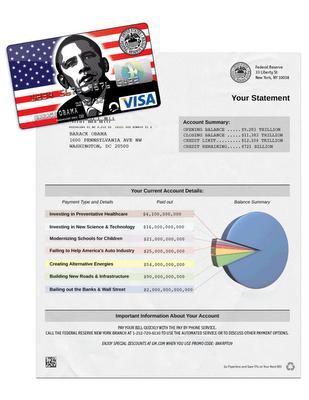 Obama's Credit Card Statement