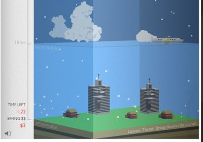 Effing Hail, The isometric infographic game!