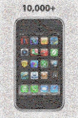 10,000+ iPhone Apps Mosaic