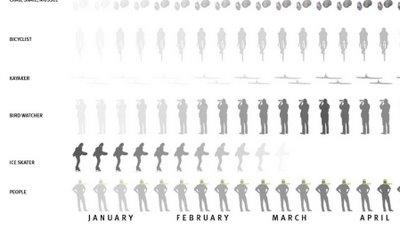 Seasonal Visual Timelines