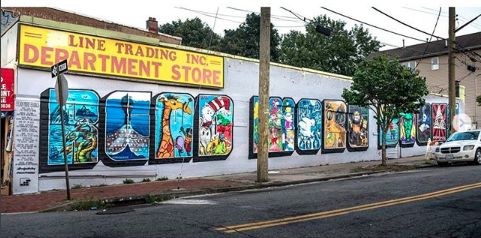 Read More Books Mural
