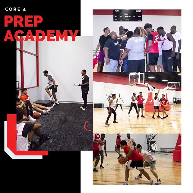 It's official! Core 4's Prep Academy is here🙌 • Preseason training is underway. Big things are coming this season😏 • Stay tuned 🤫🔥🏀
