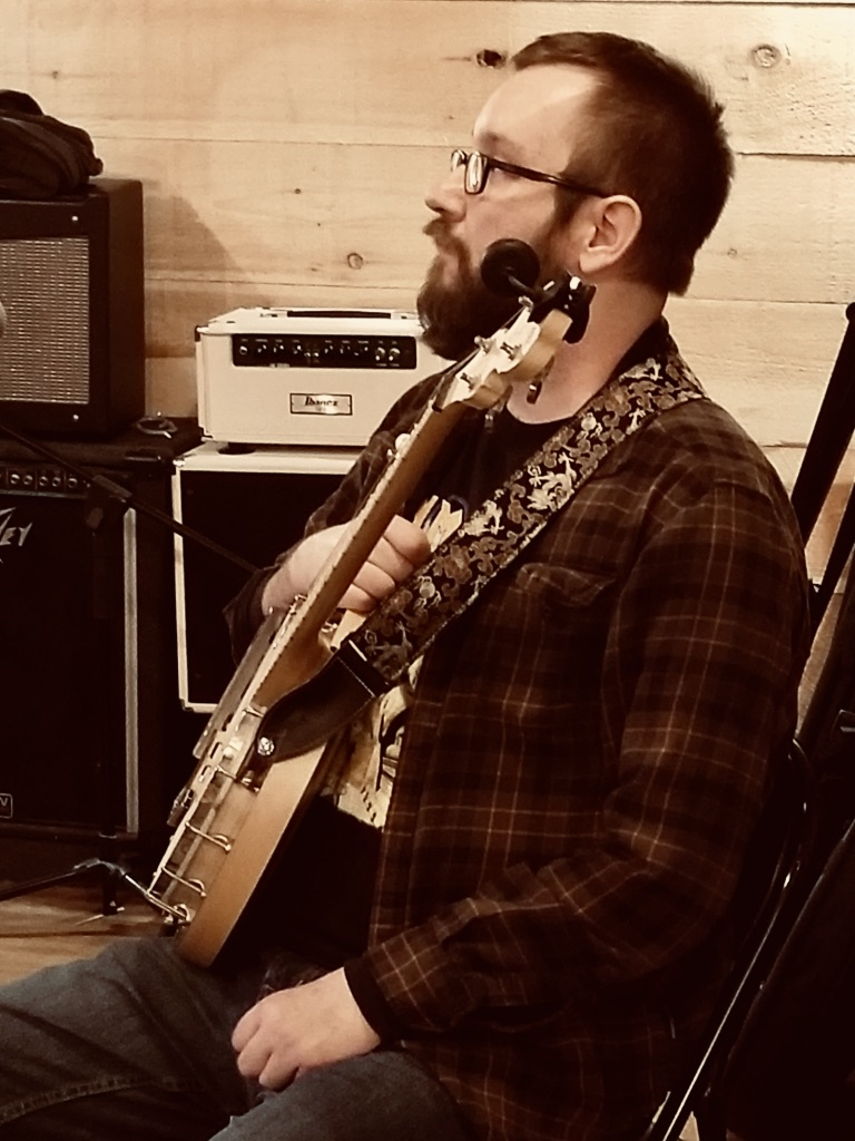 Justin being stoic and thoughtful as ever.  Photo courtesy of Courtney Donovan. March 13, 2019