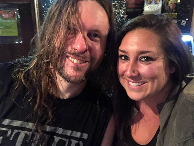 I appreciate all music. @unearthofficial has so much talent man! @christywalshphipps I took this for you! Wish you were here! #nashville #nashvillesongwriter #trevorphipps #unearth #theend #bostontonashville