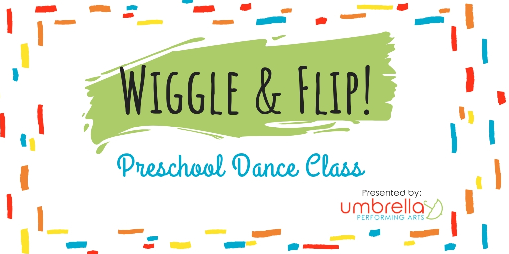 Wiggle & Flip! - For the littlest dancers, this pre-school workshop will focus on fun movement and rhythm games to help with coordination, balance, more. We will use props, songs, and stories to explore movement. This class is offered in child-only, or parent-child (Mommy-and-me) formats.Length: 1-2 hoursTarget age: 2-4Max. class size: 10 children