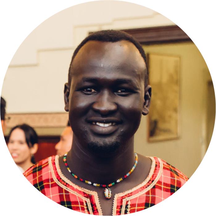 awan Mading - South Sudanese Community Leader