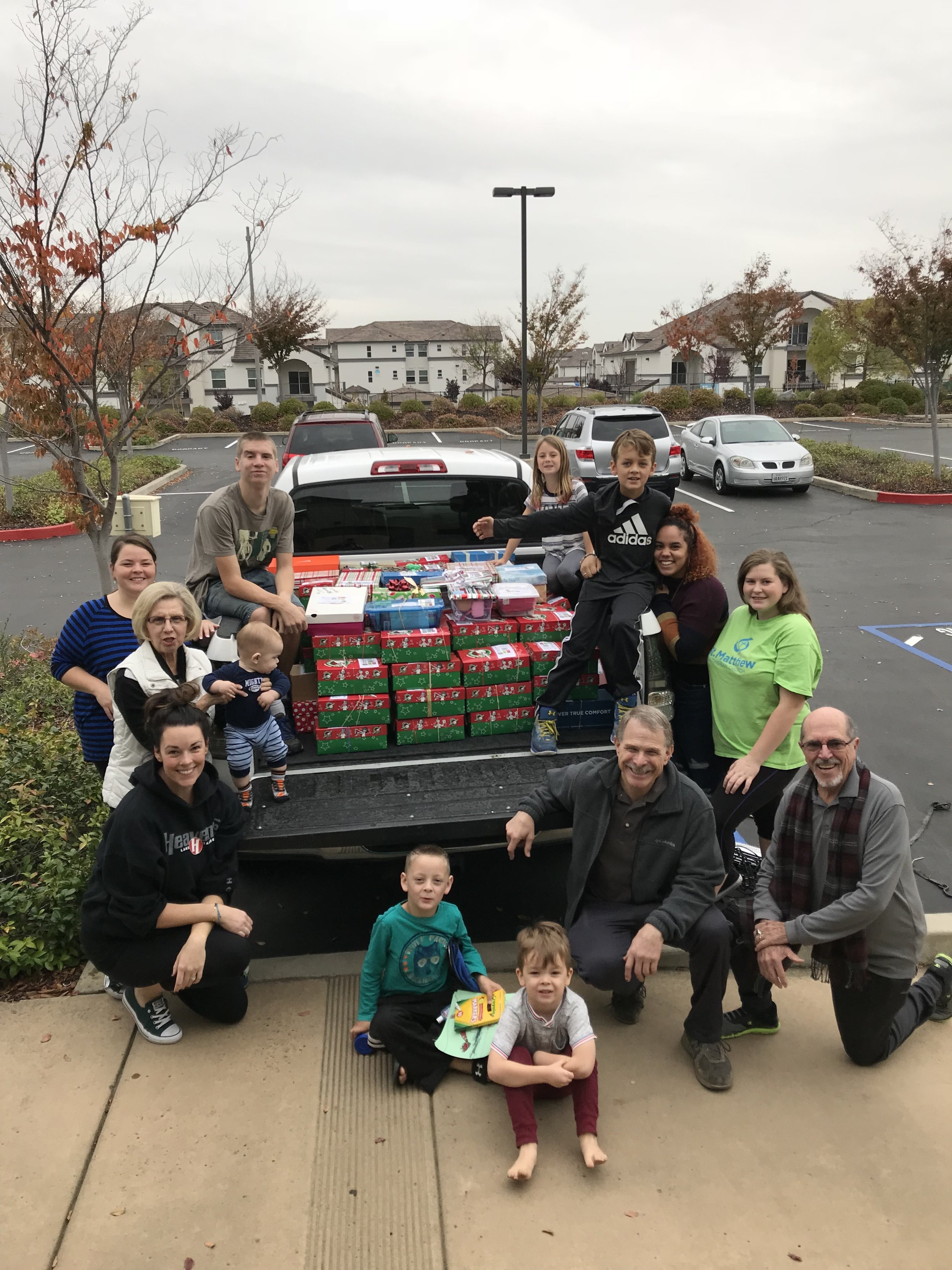 Operation Christmas Child - bring groups together to serve on a global scale