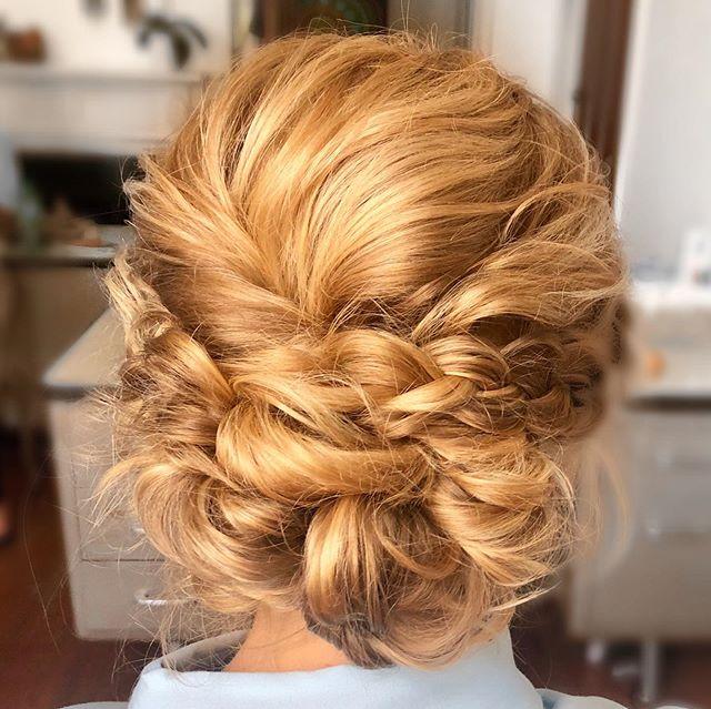 #bridesmaidhair ✨