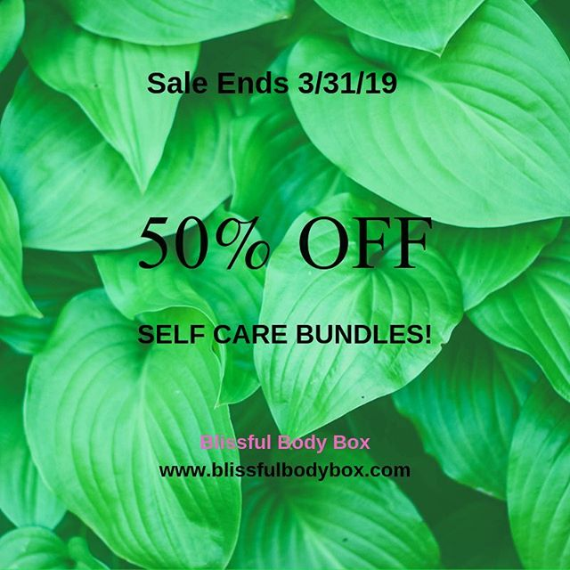 50% Off Self-Care Bundles Ends THIS WEEK 📣 - Bundles include: 🍵Time To Relax Tea Bundle features @wightteaco Mint tea blend. 🛀Take Care Yourself Bundle features @beccaandmars Body oil and Essential oil roller. - Visit the link in the bio or www.blissfulbodybox.com to shop! . . . #blissfulbodybox  #naturalskincareproduct #linkinmybio👆  #smallbusinesswoman  #supportlocalbaltimore  #entrepreneurhustle  #shoplocalbaltimore  #saleendingsoon  #halfoffsale