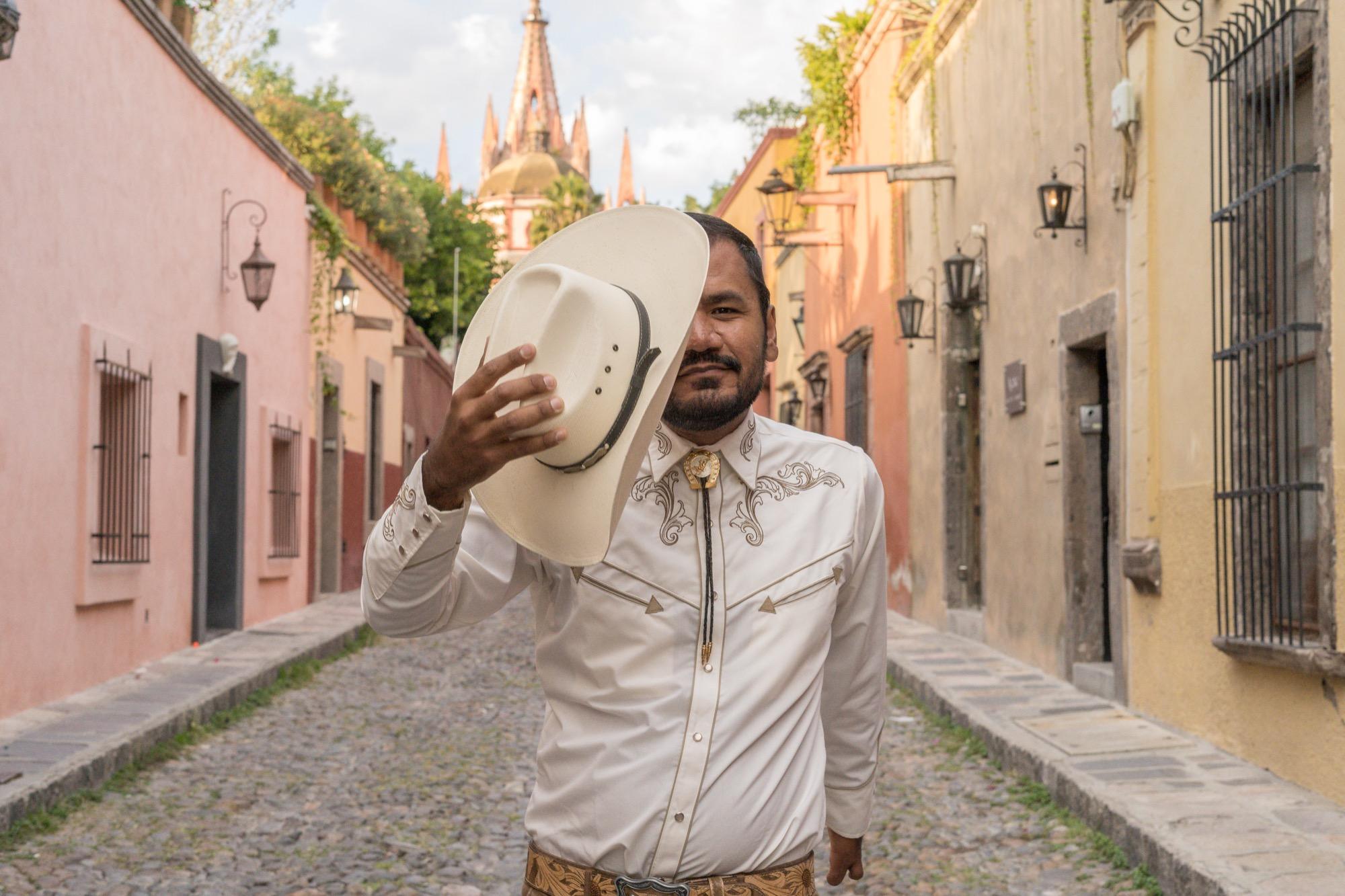 Cowboy en Aldama