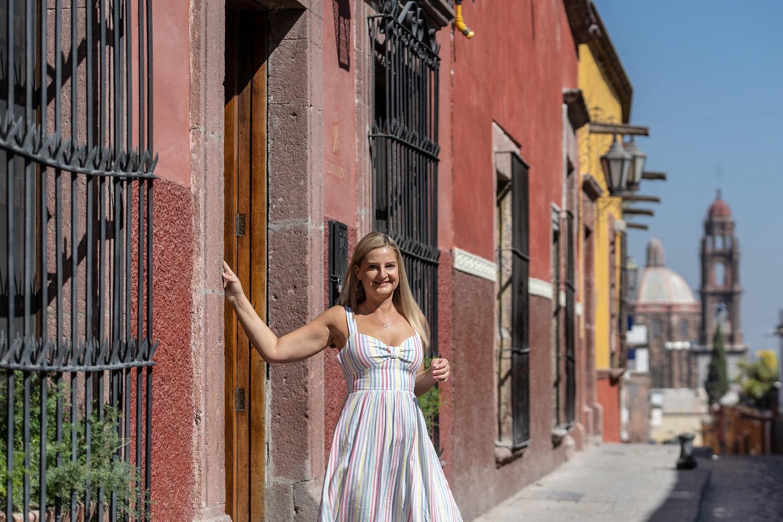 Erika en San Miguel