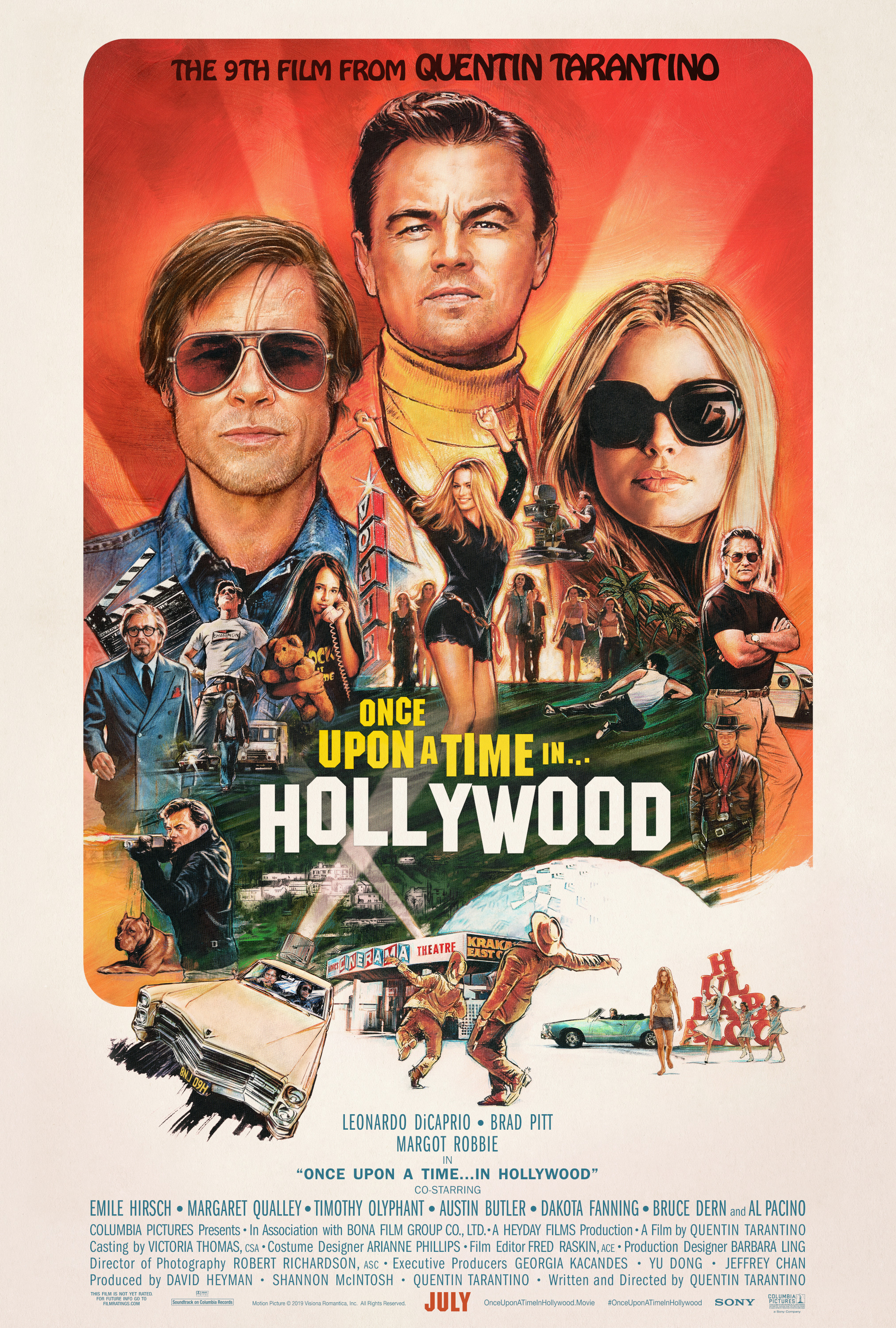 Tarantino's 9th FEETure: - Once Upon a Time in Hollywood