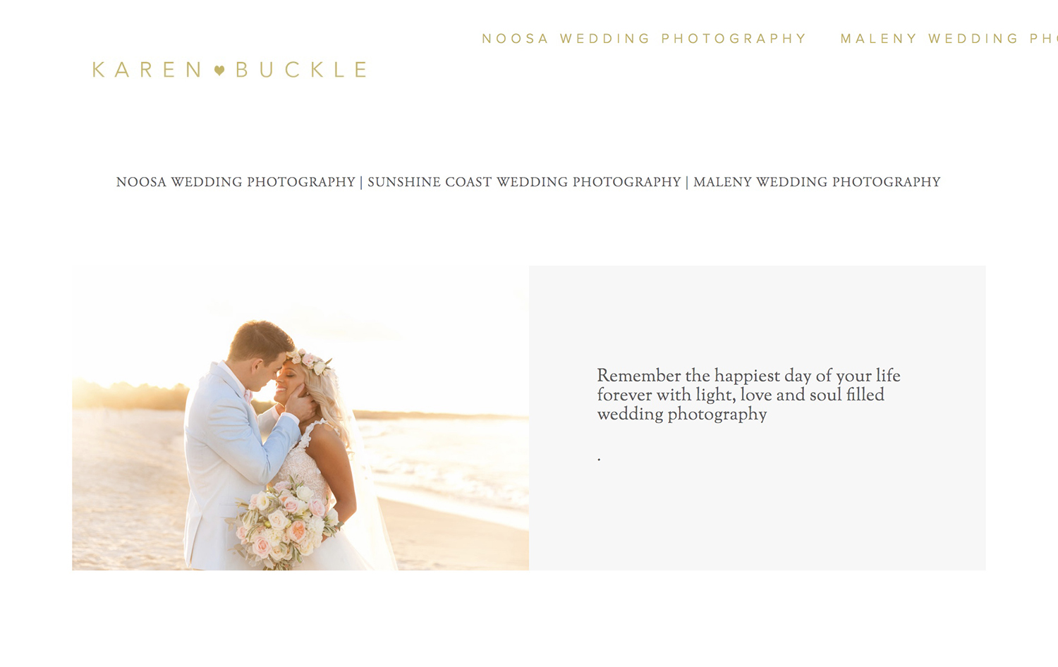 Karen Buckle Photography - PH: 0407 246 300 karenbucklephotography@gmail.com