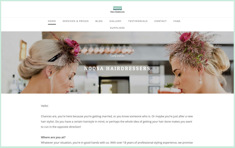 Noosa Hairdressers - PH: 048877626 Email: info@noosahairdressers.com.au