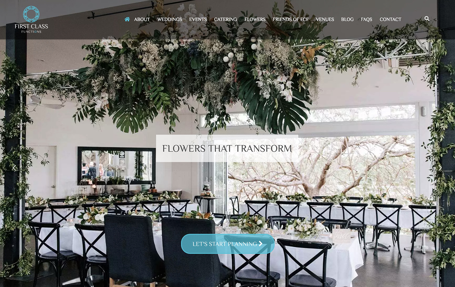 First Class Functions - PH: 5474 0299 info@firstclassfunctions.com.au