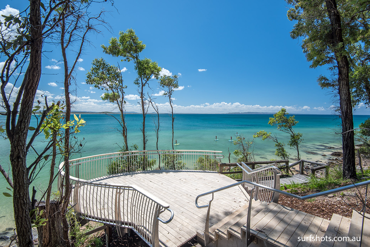 Little Cove Platform - Perfect for a couple wanting to elope in Noosa. Walk along the new Noosa boardwalk to this idyllic spot overlooking the ocean and the Noosa North Shore.